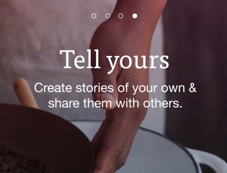 Mode Stories Sign-Up  Animation
