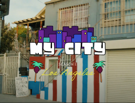 "Square – ""My City"" series GFX"