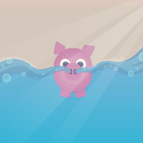Floating Pig