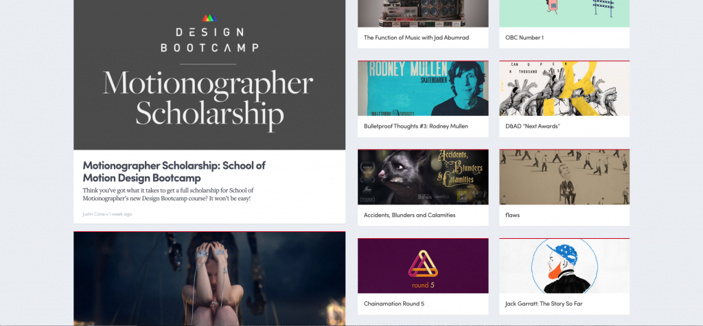 "Collaborative Project ""Chainamation Round 5"" Featured on Motionographer!"