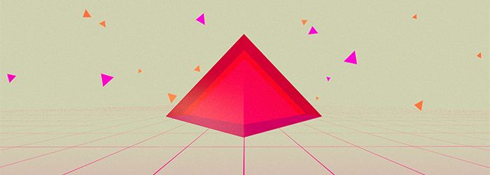 Weekly C4D: New Wave Triangles